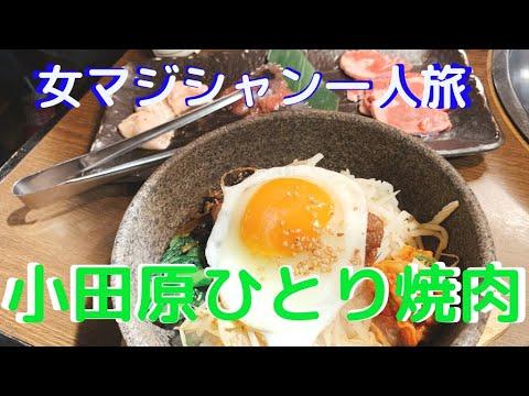 【旅マジシャンひとり旅 #27 小田原】GOTOトラベルの地域共通クーポンでおひとり様で焼肉ランチ。