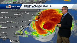 Hurricane Florence getting closer, expected to devastate Carolinas