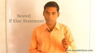 Nested If Else Statement in C (HINDI)
