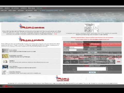 Pharma Software part 1 user control