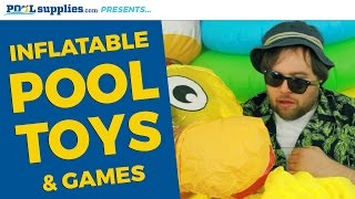 Inflatable Pool Toys & Games at Poolsupplies.com