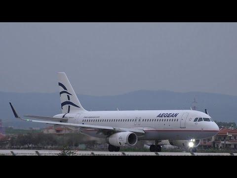Διακοπή απογείωσης Airbus A320ceo (SX-DGY) της Aegean Airlines στην Αλεξανδρούπολη! [4K]