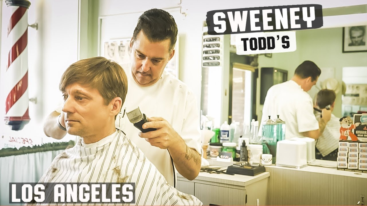 Haircut Harry Experiences A Hair Cut At Sweeney Todds Barber Shop