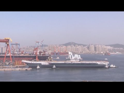 China Launches Second Aircraft Carrier (Update)