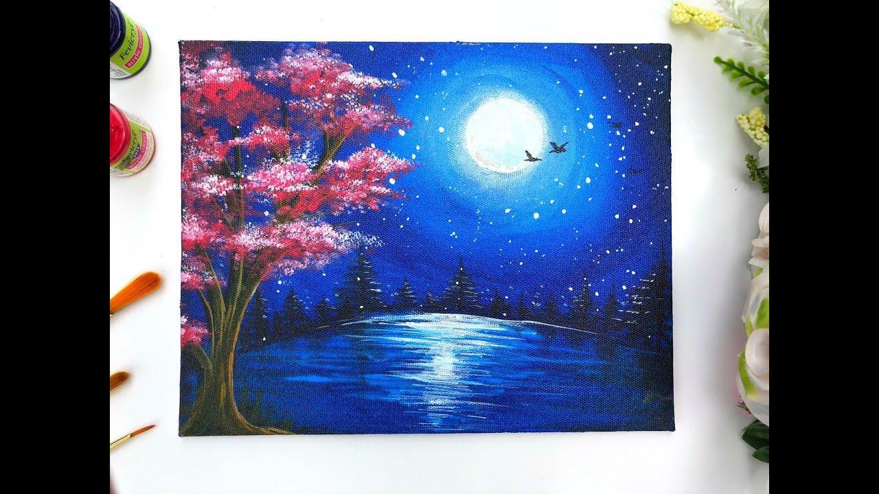 Cheetah Canvas Painting Kids Art