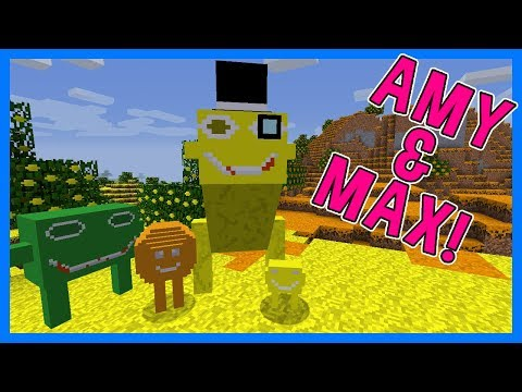 WEIRDEST DIMENSION EVER! | Amy & Max! Ep.63 | Minecraft