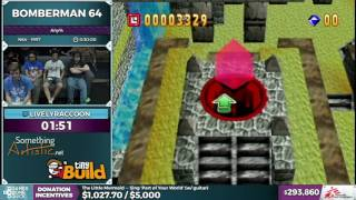 Bomberman 64 by LivelyRaccoon in 0:26:13 - SGDQ2016 - Part 79