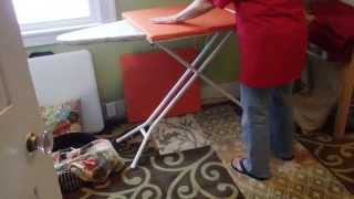 Making An Ironing Board Extension For My Quilter