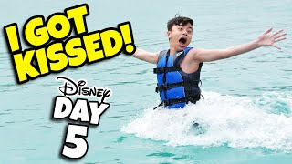 EVAN GOT KISSED!!! Bibbidi Bobbidi Boutique & Swimming with Dolphins in the Bahamas! DAY 5
