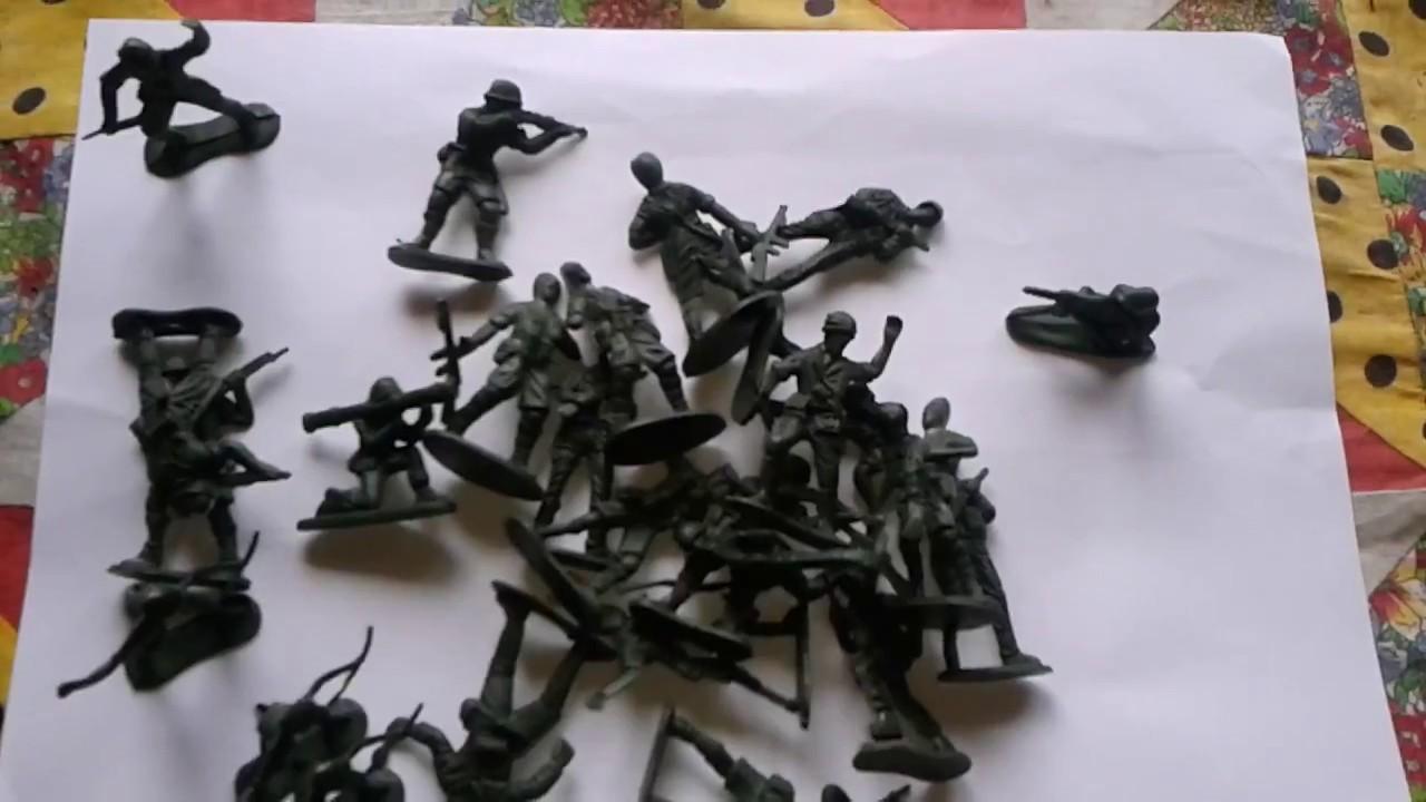 Солдатики игрушки видео