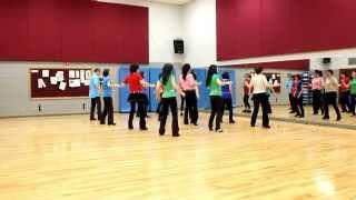 Hard Work -  Line Dance (Dance & Teach in English & 中文)