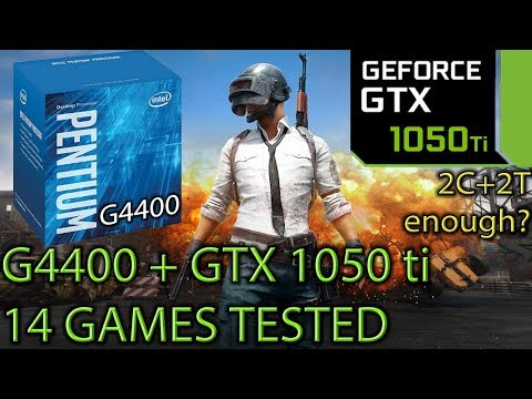 G4400 paired with a GTX 1050 ti - 2C / 2T still enough? - 14 Games Tested