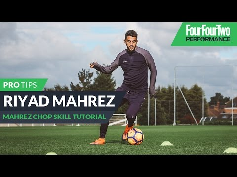 Riyad Mahrez | How to do the Mahrez chop | Skill tutorial