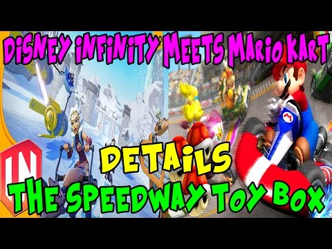 Disney Infinity 3.0 | Toy Box Games | The Speedway Toy Box : Disney Infinity Meets Mario Kart |