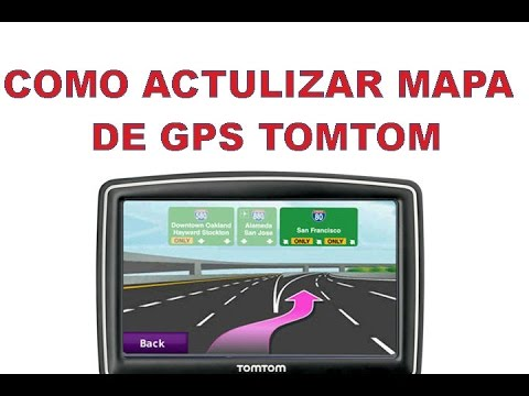 como actualizar el mapa de un gps tomtom us youtube. Black Bedroom Furniture Sets. Home Design Ideas