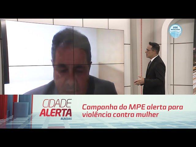 Agosto Lilás: campanha do MPE alerta para violência contra mulher