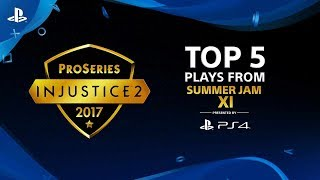 Injustice 2 – Top 5 Plays from Summer Jam XI | PS4