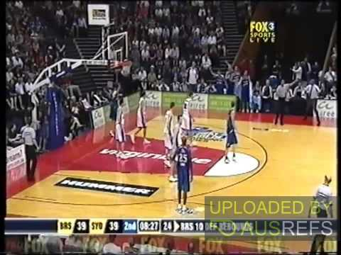 Game Management - Scott Butler on NBL Game