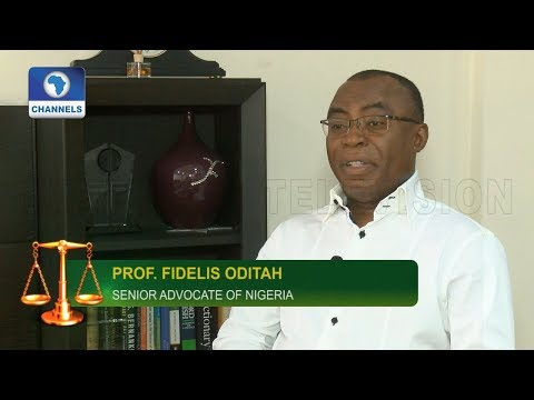 Lawmakers Suspension: Nigerian Assembly Is Immature - Prof Oditah  Law Weekly 