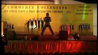 Adnan (My) Dance Performance on Kolaveri & DJ Mix Songs - HD - 2012 (Dostee.PK Friendship 4ever)