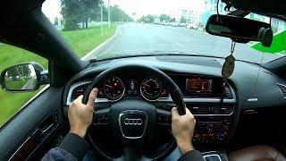 2010 Audi A5 2.0TFSI POV TEST DRIVE