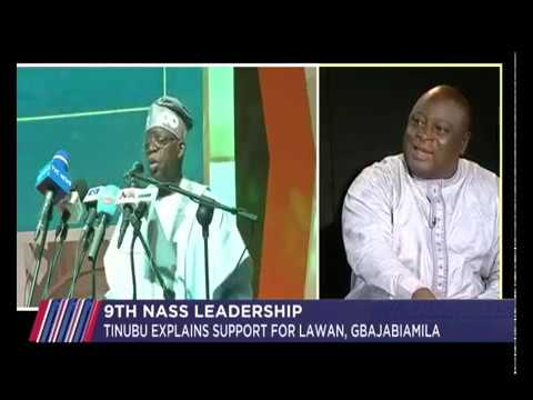 Tinubu explains support for Lawan, Gbajabiamila | JH 22nd April 2019