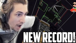 xQc Reacts to NEW MINECRAFT 1.16 WORLD RECORD 12:12