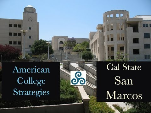 Cal State University at San Marcos campus visit with American College Strategies