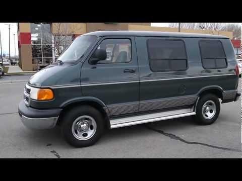 2000 Dodge Ram Custom Van 1500, 6 Cyl, For Sale,