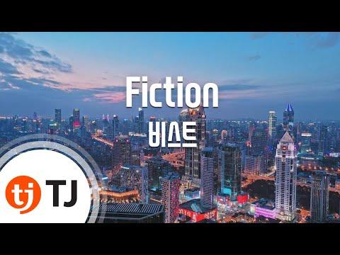 Fiction_BEAST 비스트 _TJ노래방 (Karaoke/lyrics/romanization/KOREAN)