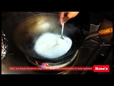 How to cook Tom Kha Gai - Thai food cooking show - Rosa's London
