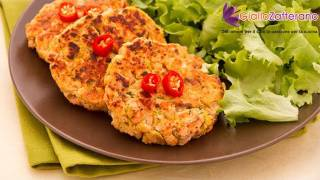 Salmon burger - quick recipe
