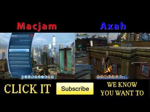 Macjam & Axah play - DC Universe Online - Ep29 - To Metropolis