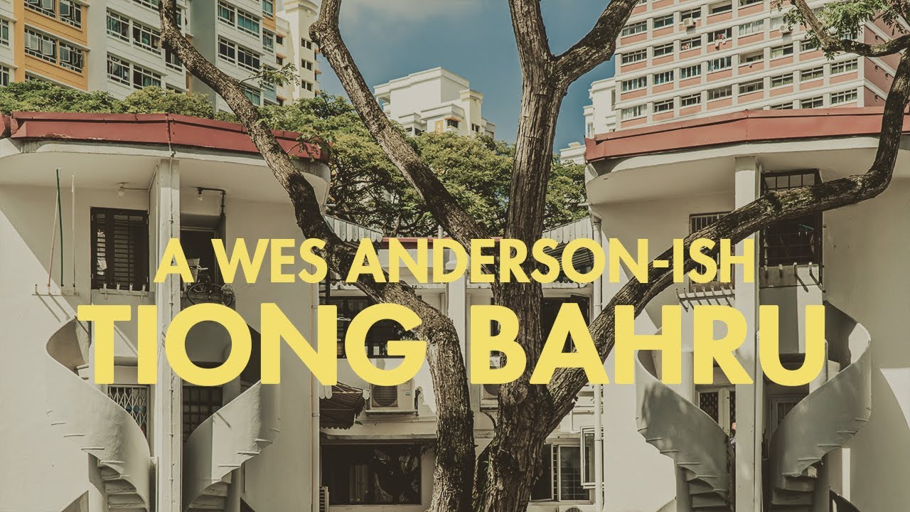A Wes Anderson-ish Trip Around Tiong Bahru Singapore
