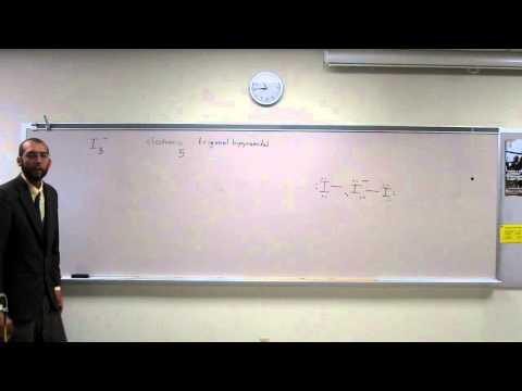 VSEPR Theory - Triiodide Anion (I3-) - Expanded Valence