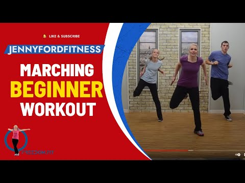 Marching with Moves for Beginners -- JENNY FORD