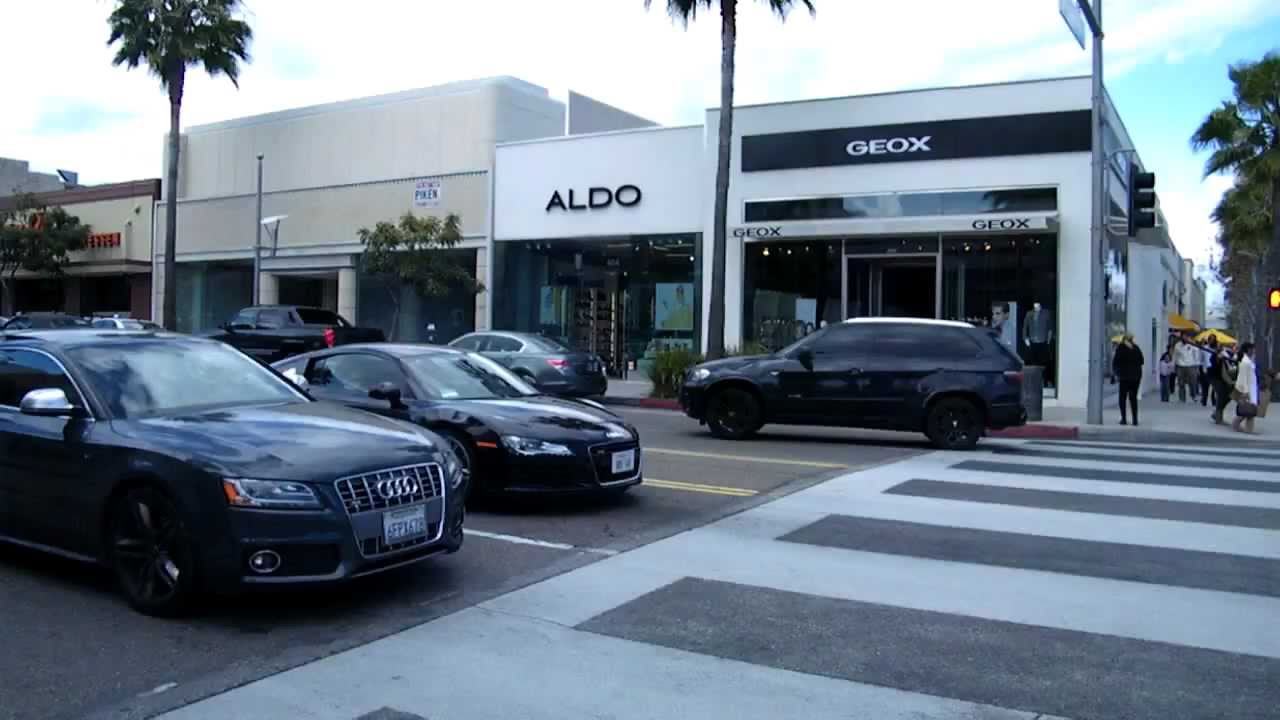 Audi R Acceleration In Beverly Hills USA YouTube - Audi beverly hills