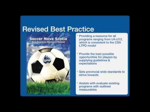 Soccer Nova Scotia Best Practice