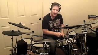 Foo Fighters Rope Drum Cover by Chris Kahle on Roland TD-20SX TD20