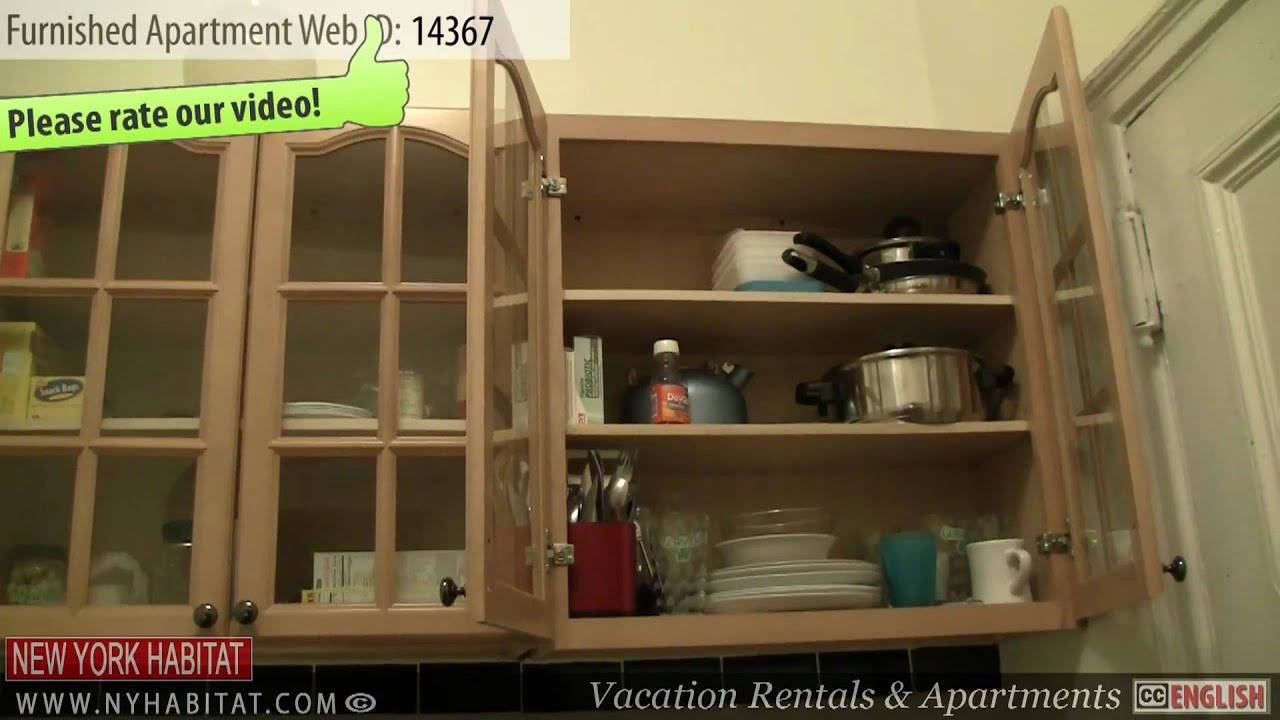 new york city video tour of a furnished studio apartment on 52nd