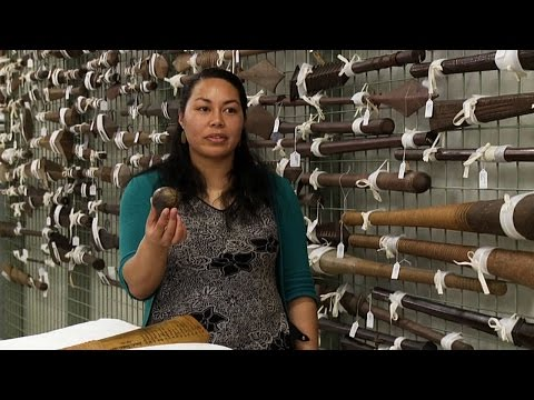 Samoan Cricket Bats - Tales from Te Papa episode 30