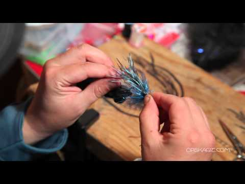 How to Tie a Black and Blue Steelhead Fly - OPST