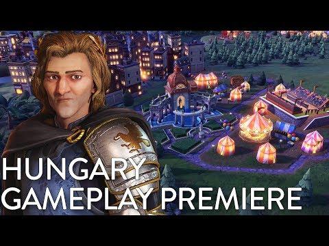 Civilization VI: Gathering Storm - Hungary Gameplay Premiere (Dev Livestream)