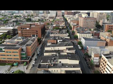Wilmington Delaware Riverfront 2019 drone footage