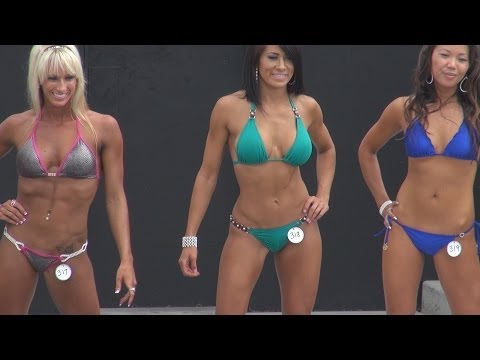 Bikini Short Girls Contest on Labor Day 2013