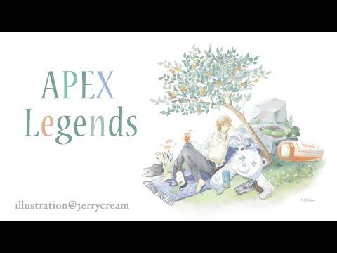 APEX | 夜が訪れた!とりあえずAPEX【にじさんじ/叶】