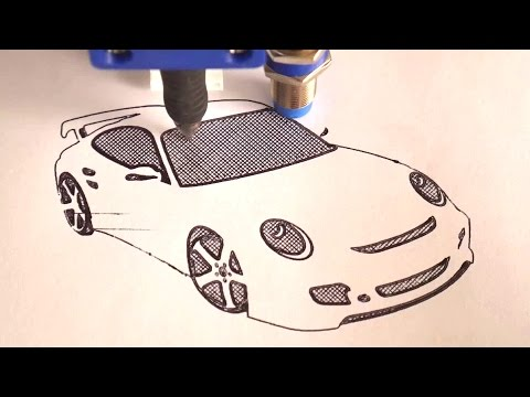 Draw with your 3D Printer! - YouTube