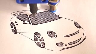 Draw with your 3D Printer!(Convert your 3D Printer into a 2D Plotter! Some experiments with attaching a pen to the X carriage. Buy cheap 3D Printer kits and parts from Banggood here: ..., 2017-01-22T13:34:57.000Z)
