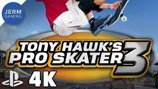 Tony Hawk's Pro Skater 3 on PC at 4K using PCSX2 Playstation 2 Emulator