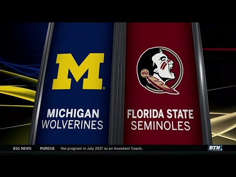 Tommy Henry shuts out Florida State, puts Michigan one win from CWS final